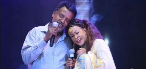 Feta Show - Mekonnen Laeke Vs Deribwork (Ethiopian music)